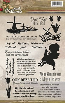 Clearstamp - Amy Design - Oud Hollands Tekst